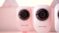 GÜNSTIGE WLAN-Überwachungskamera mit Nachtsicht & Bewegungsmelder - iOS & Android App