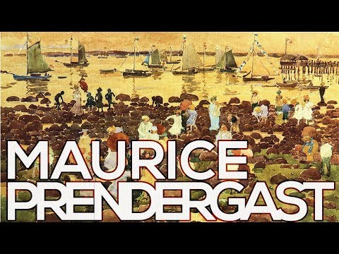 Maurice Prendergast: A collection of 438 works (HD)