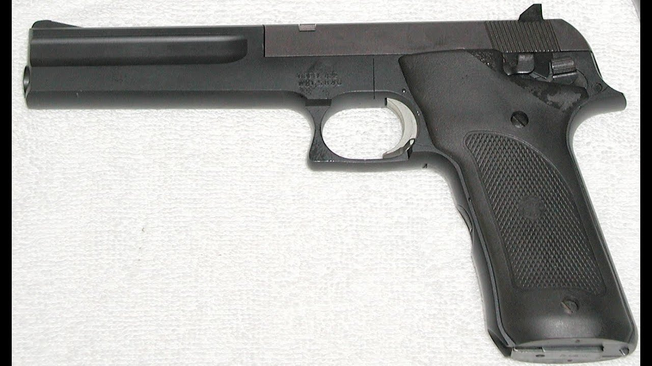 9MM AUTOMATIC PISTOL DOUBLE ACTION