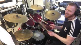 "How To Play ""Crazy Little Thing Called Love"" By Queen On Drums - Note-For-Note Drum Cover"