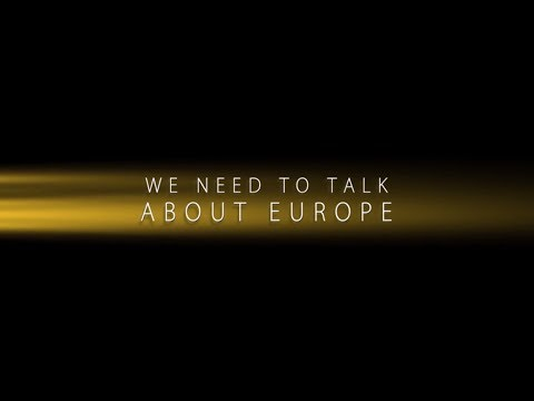 We need to talk about Europe