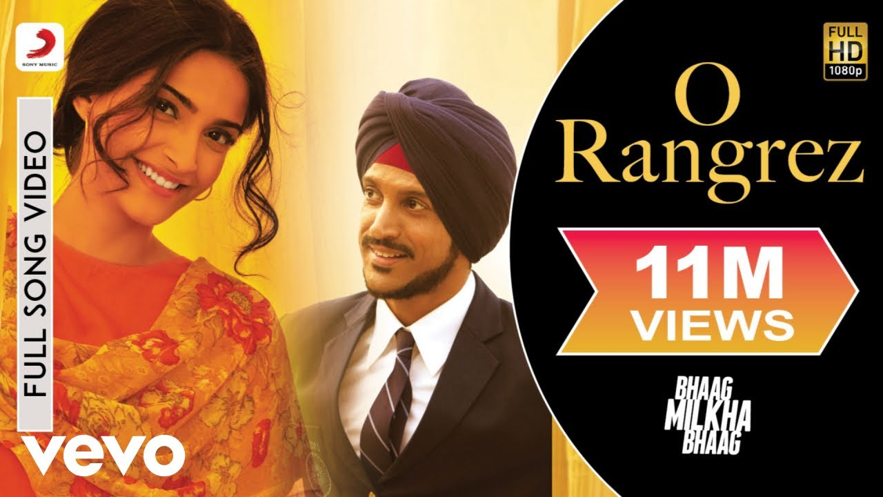 O Rangrez Full Video - Bhaag Milkha Bhaag|Farhan, Sonam|Shreya Ghoshal,  Javed Bashir