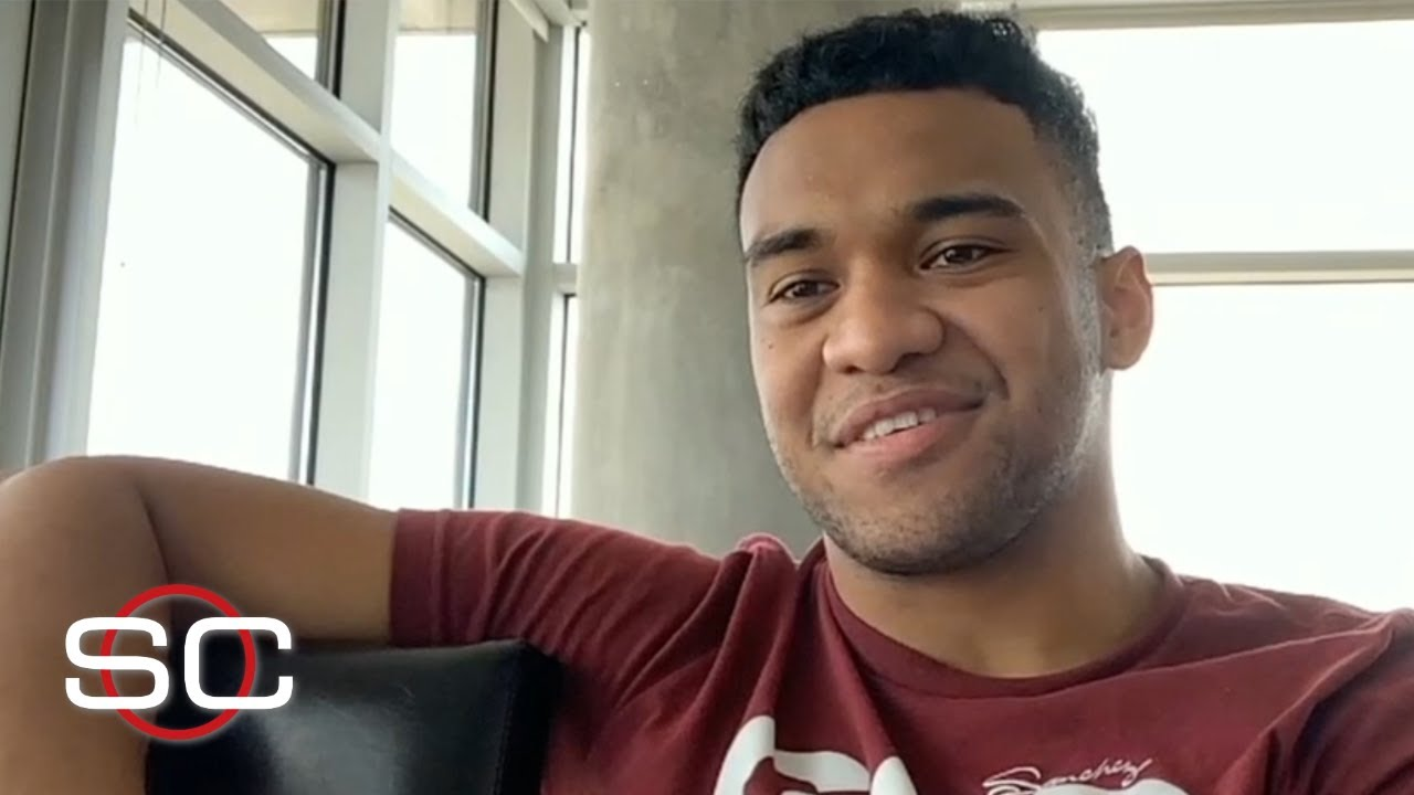 Tua feels 100% going into the draft | SportsCenter