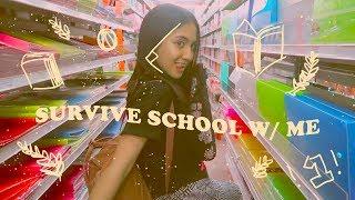 a week in school // log #19