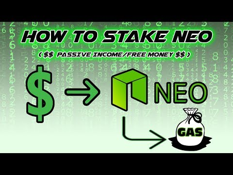 How To Stake Neo (PASSIVE INCOME FREE MONEY)