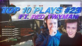 INSANE QUAD LINE UP (Top 10 Plays #23 ft. Red Twyman)