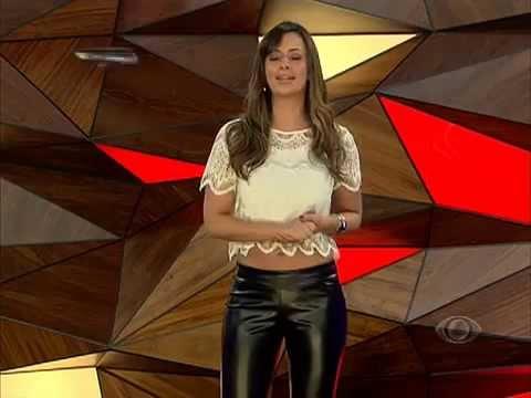 Paloma Tocci In Black Leather Pants 5 Calça De Couro