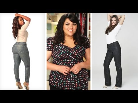 """Throw Away your """"Fat"""" Jeans And Get Plus Size Jeans That Fit Your ..."""