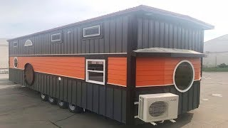 Be Our Guest By Incredible Tiny Homes   Living Design For A Tiny House