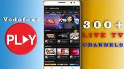 Vodafone Play में अब देखे 300 Live TV Channels   क्या JIO TV से बेहतर हैं?