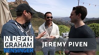 Jeremy Piven: Transforming into Ari character