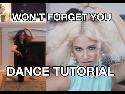 """Won't Forget You"" Dance Tutorial (Pixie Lott ft. Stylo G)"