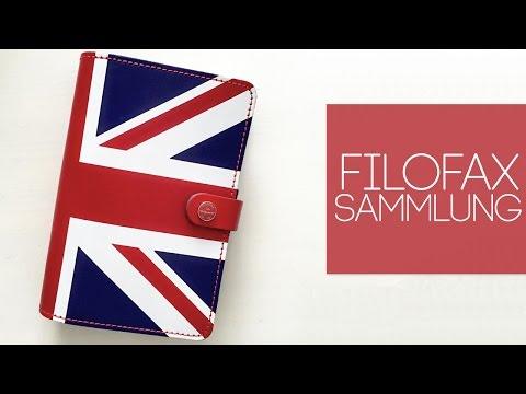 Filofax Sammlung I The Original Union Jack Special Edition 2015 I Vergleich I German Deutsch