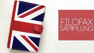 Filofax Sammlung I The Original Union Jack Special Edition 2015 I Vergleich I German Deutsch