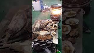 생선구이 가리비구이 생선도 맛있네요