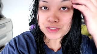 Vlog: Dyeing My Hair Black! Garnier Nutrisse 11 Peppercorn, Blackest Black