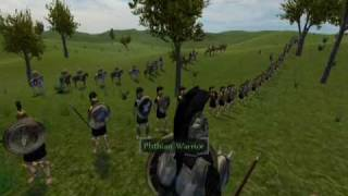 Repeat youtube video Mount and Blade - Spartan/Athenian alliance against Thracian/Boeotian League
