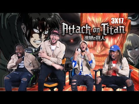 GOD LEVI Attack on Titan 3x17 REACTIONREVIEW