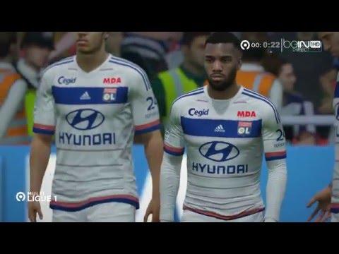 Multiplex Ligue 1 37ème Journée FIFA 16