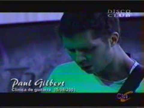 Paul Gilbert Scarified