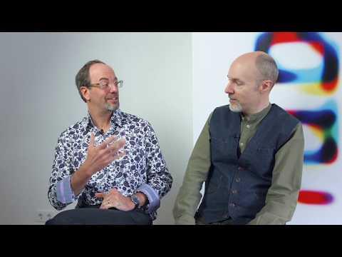 TYPO Labs 2017   Tom Rickner and John Hudson