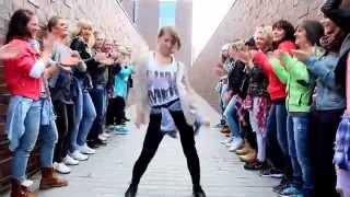 WAH GWAN! dancehall fitness class / Winter Explosion Invitation 2015