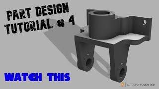 Fusion 360 tutorial video clip