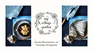 Quitten-Flammkuchen mit Véronique Witzigmann