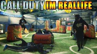 Call of Duty im Reallife   Paintball   ViscaBarca