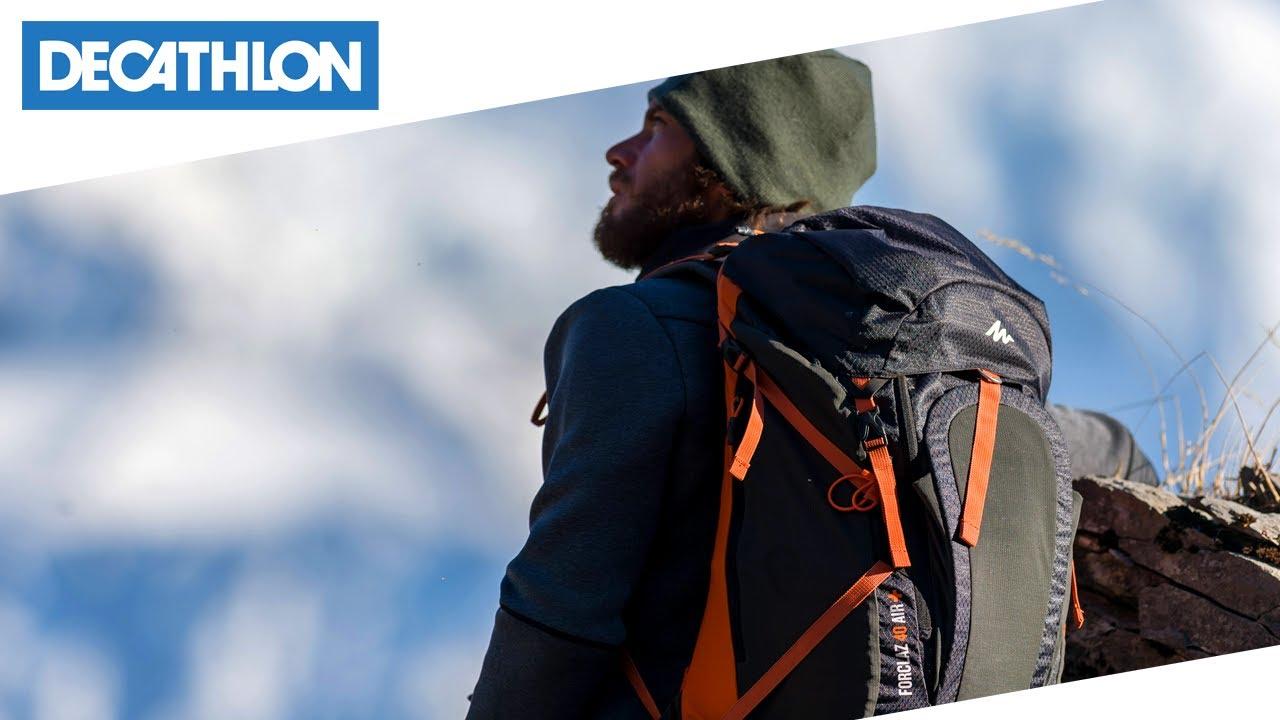 metà fuori 805c9 7e6a6 Zaino da trekking Forclaz 40 Air + di Quechua | Decathlon Italia