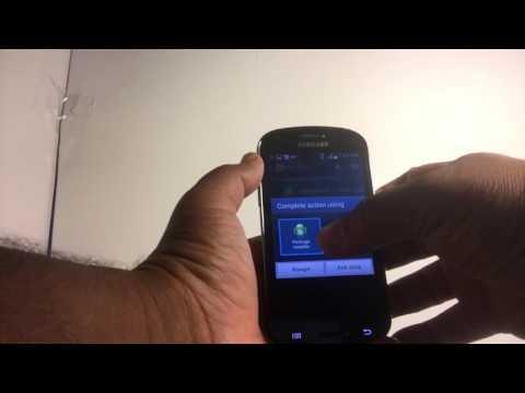 Samsung Galaxy Express Screenshot