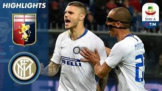 Genoa 0-4 Inter | Icardi, ritorno da leader: gol e assist, è POKER al Genoa! | Serie A