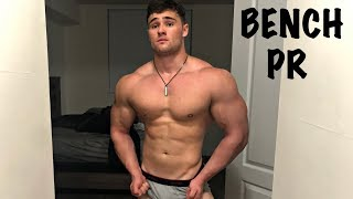 HUGE BENCH PR | Tips To Grow Your Chest