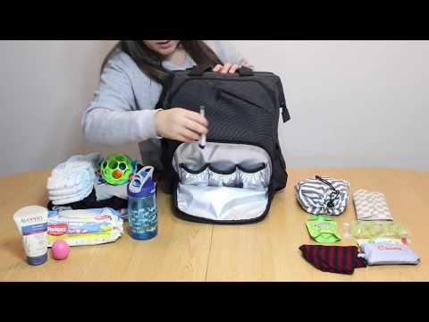 Hap Tim Diaper Bag Review + What's in my diaper bag