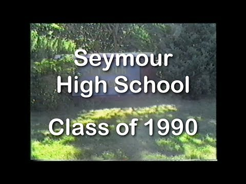 Seymour CT 1990 High School Practice and Graduation - Last 3 days of school