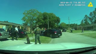 Video: Fugitive arrested after chase in Flagler, deputies say