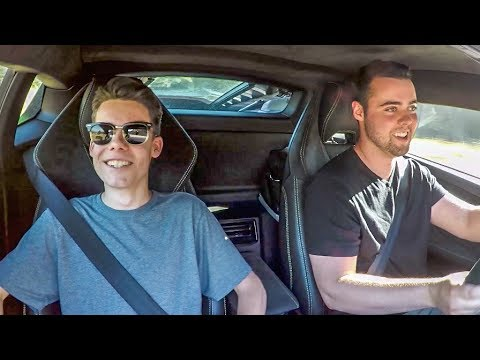 Friends React To LAMBORGHINI LAUNCH CONTROL!!!