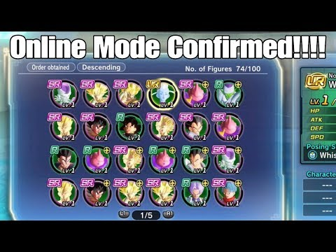 Xenoverse 2 Hero Coliseum Will Be Fire! Online Mode, Story Mode, Tp Medals Used to Buy Figures!