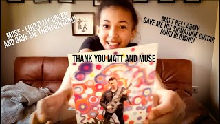 Matt Bellamy from MUSE - GAVE ME HIS SIGNATURE GUITAR!!!! - THANK YOU!