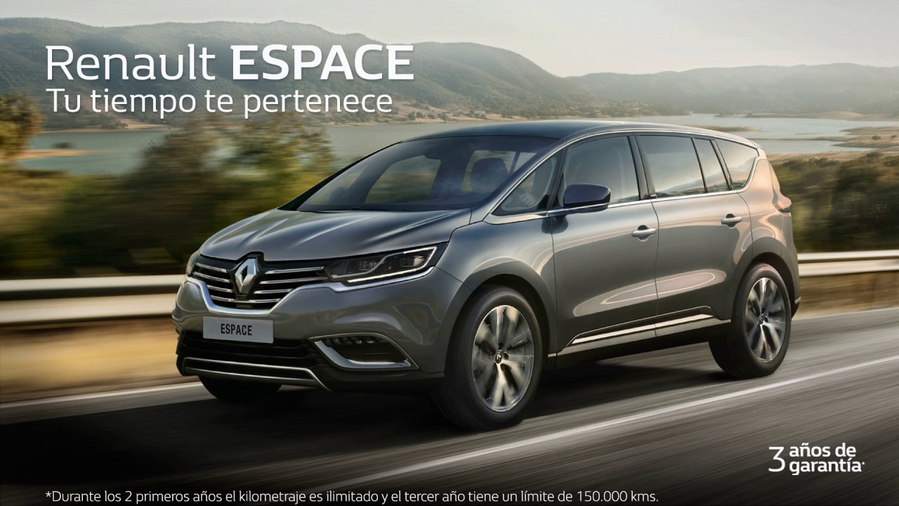 renault espace 2017 youtube. Black Bedroom Furniture Sets. Home Design Ideas