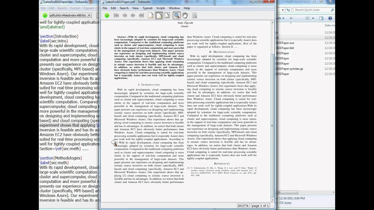 Latex Tutorial How To Cite Referencespaperarticles In Latex Youtube