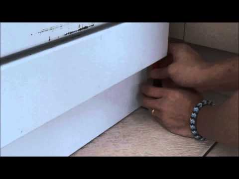 How To Open Botttom Panel Of Nemo Fisher And Paykel Dishwasher