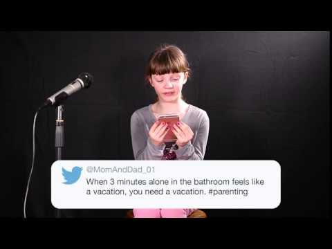 Parent Tweets Read by Kids - Vacation