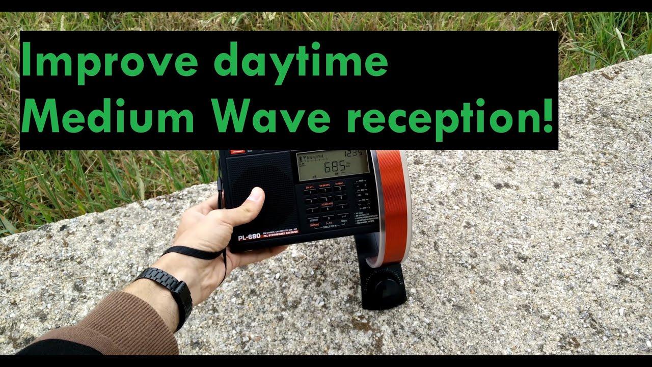 how to improve medium wave radio reception on daytime youtube. Black Bedroom Furniture Sets. Home Design Ideas