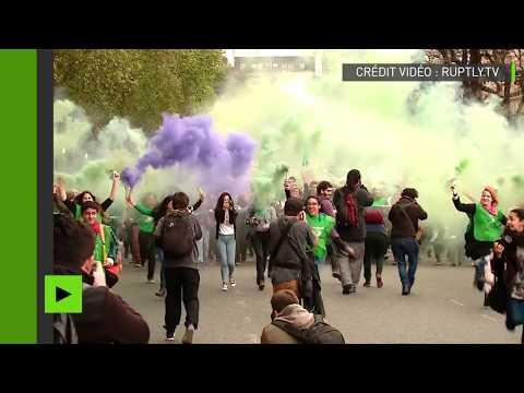 Manifestation pour la légalisation de l'avortement à Buenos Aires