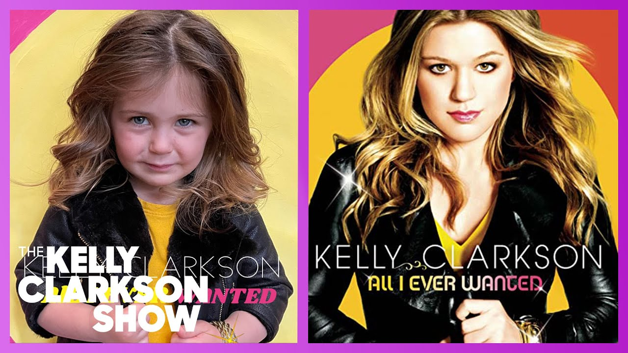 Mother Dresses 3-Year-Old As Kelly Clarkson, Billie Eilish & Other Powerful Women
