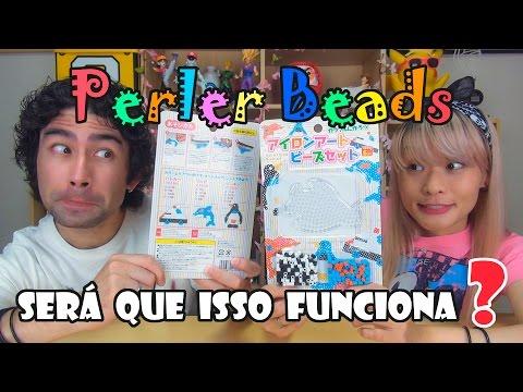 Perler Beads (pixel art com tubinhos de plástico) - Será Que Isso Funciona?