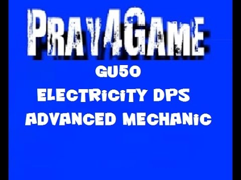 dcuo gu50 electricity dps advanced mechanic youtube