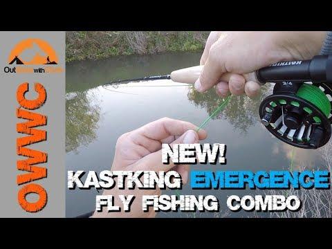 NEW! KastKing Emergence Fly Fishing Combo - Great Starter Kit For New Fly Fishermen