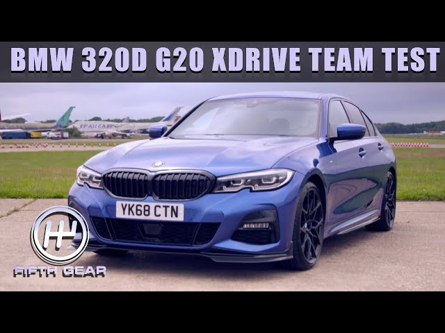 BMW 320D G20 XDRIVE TEAM TEST | FIFTH GEAR